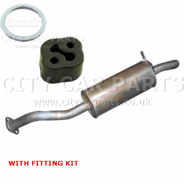 Toyota Auris 1.3i,1.4i 1.6i 2006 To 2009 Hatchback Exhaust Rear Silencer